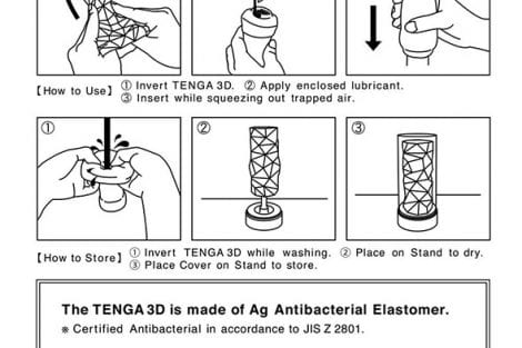 Tenga 3d Instructions