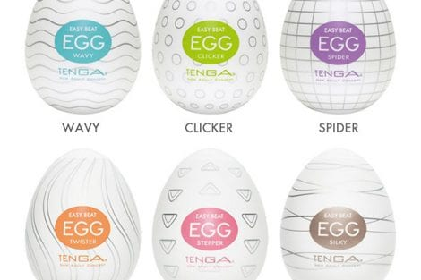 Tenga Egg Variety Pack 6 Colors