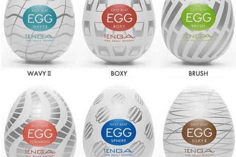 Tenga Egg Variety Pack New Standard