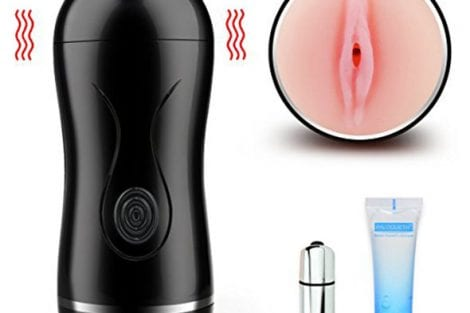 Paloqueth Vibrating Male Masturbator Toy