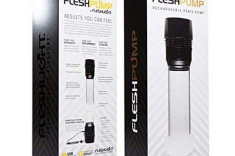 Fleshlight Fleshpump Case Front Back