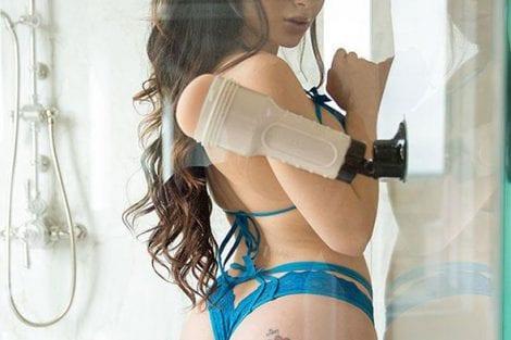 Lana Rhoades Fleshlight Male Sex Toy