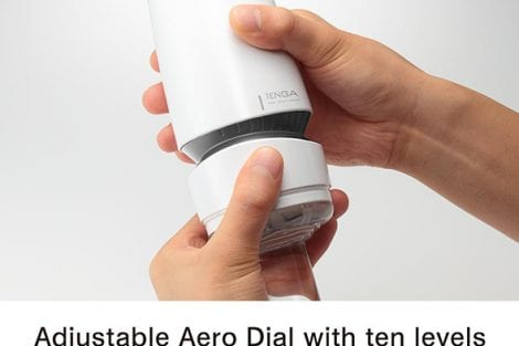 Tenga Aero Cobalt Adjustable Aero Dial